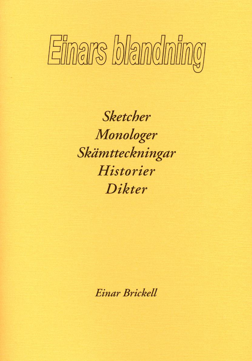 Einars blandning