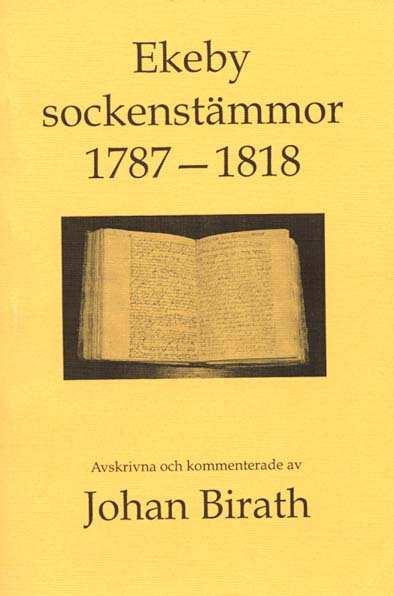 Ekeby sockenstmmor 1787-1818