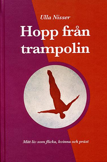 Hopp fr�n trampolin