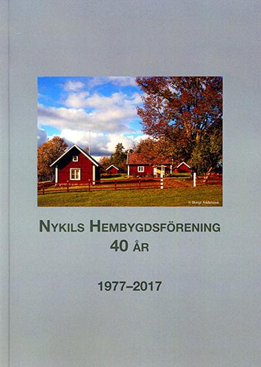 Nykils Hembygdsförening 40 år