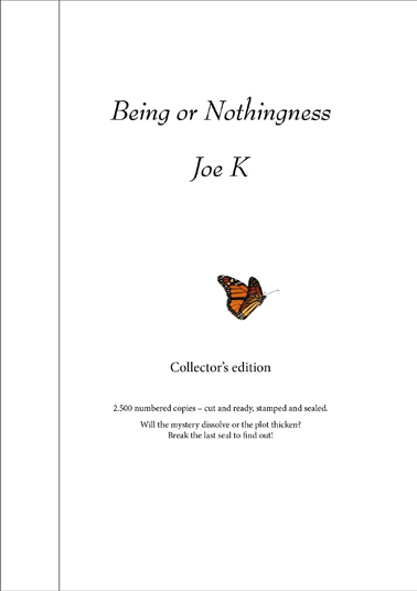 Being or nothingness (collectors edition)